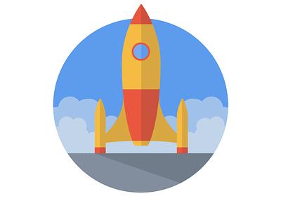 MongoHQ Splash Images - Launchpad launchpad splash vector illustrator svg flat