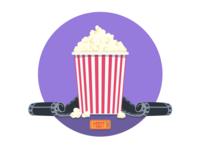 MongoHQ Splash Images - Popcorn
