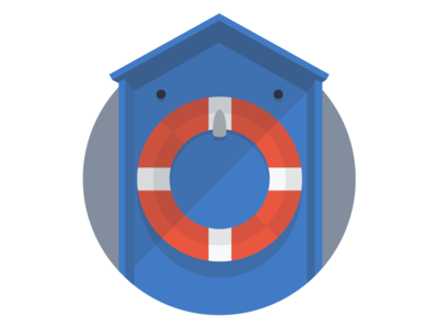 MongoHQ Splash Images - Life Preserver life preserver splash vector illustrator svg flat