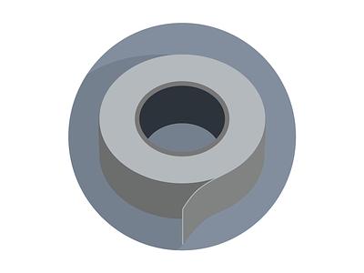 MongoHQ Splash Images - Duct Tape duct tape splash vector illustrator svg flat