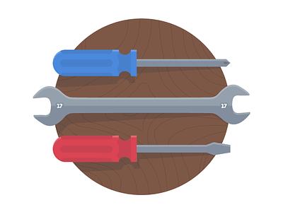 MongoHQ Splash Images - Tools tools splash vector illustrator svg flat