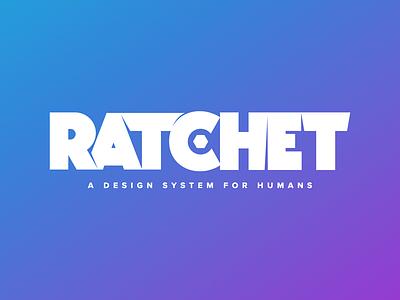 Ratchet Design js scss design system logo
