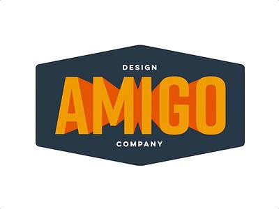 Amigo Design Co. Logo amigo animation logotype badge vector logo