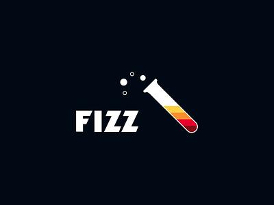 Fizz Logo Concept C fizzy vector bubbly bubbles logo gradient fizz