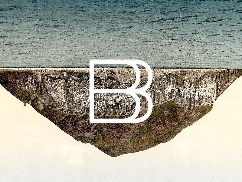 Enfant du Kult - B font fonts typo typography fontsofchaos glyph glyphes characters b landscape mountain old nature