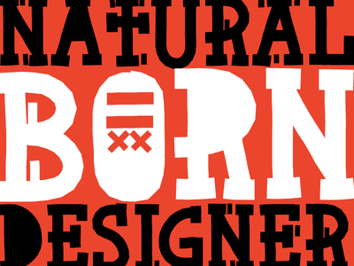 Natural Born Designer - Fonts of Chaos font fonts typo typography typographism type type design types slab slab font
