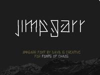 Jimpgarr - Fonts