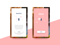 UI Concept for a charming app