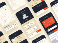 Coffee delivery app  |  UI