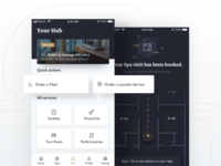 Virtual Hotel Concierge Mobile Application Concept