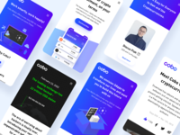 Dribbble mobile
