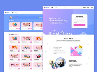 Online primary school website design school website children school education website school