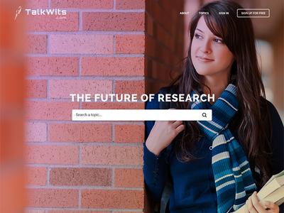 Web/mobile design for content centric social media platform future research web design