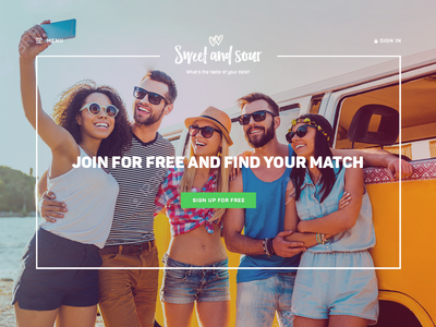 Social dating website design website social dating