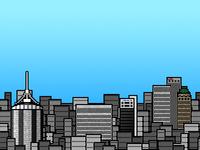 8 Bit Tulsa Skyline