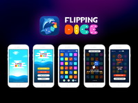 Flipping Dice Game