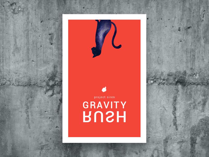Gravity rush minimal poster