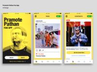 Daily UI Design Challenge/Pramote Pathan Fan App