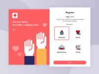 Red Cross Volunteer Registration