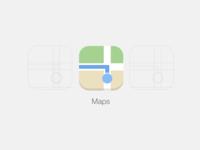 iOS 7 Maps