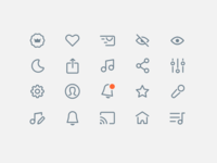 A new style for Icons Asset