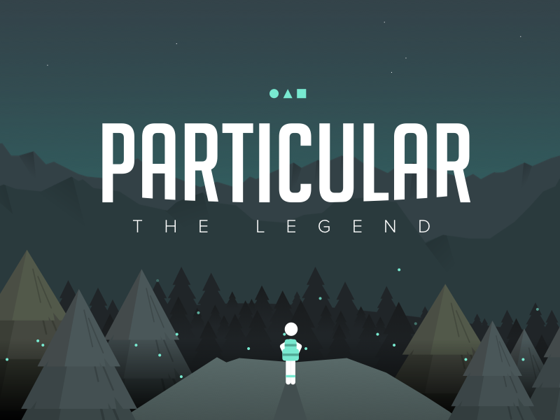 Particular ambient run night theme legend ios android mobile runner game particular