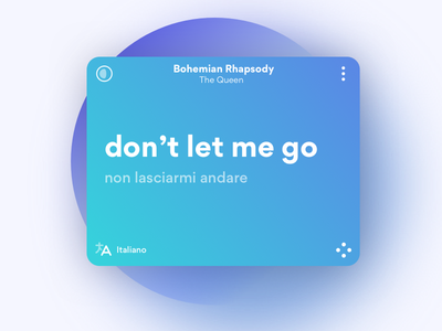 Musixmatch 7.0 Redesign product minimal clean brand concept ios player lyrics android