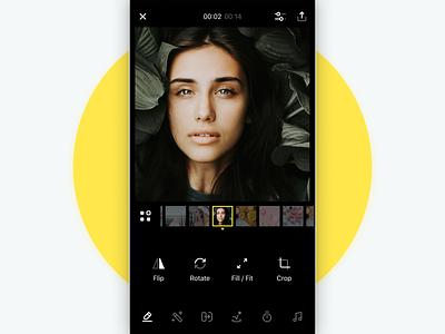 SlideLab - Frame Editor frame video app video photo light library iphone 10 iphone ios instagram effects editing editor dark album art album