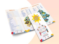 Brochure for Vacation Camp
