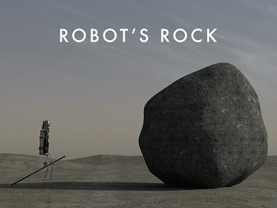 Robot's Rock 3d-animation short film rock robot blender 3d animation