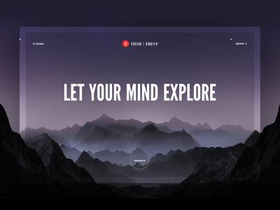 Let your mind explore
