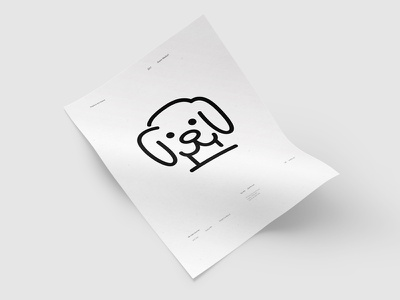 Pets icon outline a4 maicle yukhtenko mike pets icon dog