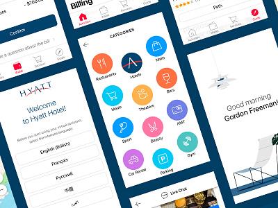 Hyatt Concierge юхтенко майк yukhtenko mike resort hotel icons ios app hyatt