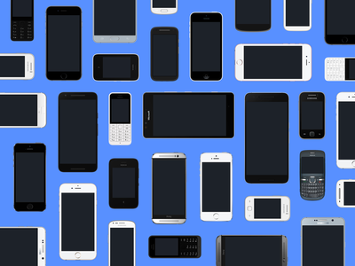 Devices added to Facebook Design Resources nexus samsung galaxy microsoft lumia free download htc nokia phones android iphone vector devices sketch