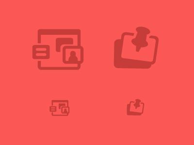 clyp - Pinboard Icon pictogram icon