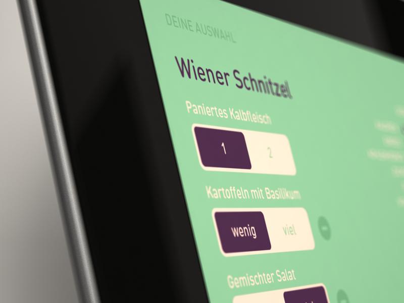 beast - switches ipad ios food app interface ui