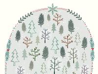 December 1st: Frosty Trees