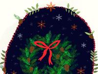 December 3rd: Hang a Festive Wreath