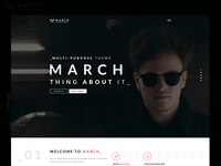 March Agency - Creative Multipurpose PSD Template (themeforest)