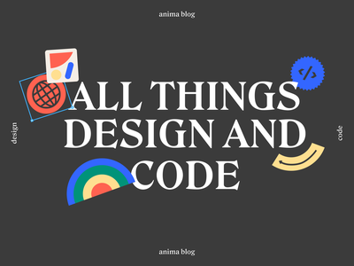 Ahhhhhh, our new blog is out! typography vector illustration branding design blog anima