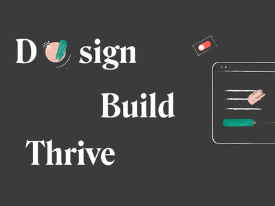 The flow of building products. Continually. typography vector darkmode ui illustration branding prototype anima