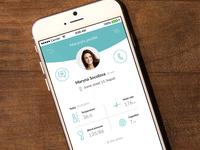 Safecare24 UX application design