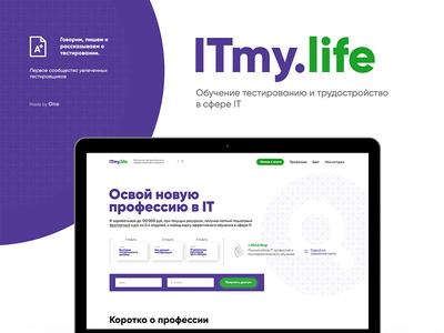 Itmy.life Concept and presentation ui ux simple clean idea design presentation concept