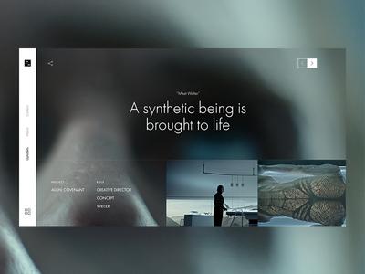 3am portfolio redesign filmmakers film 3am portfolio ui ux simple clean idea design presentation concept
