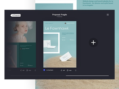 Sigma — proposals for designers [Day 5] sigma product design challenge 30 days ux ui it product creative proposals proposal generator impress dashboard