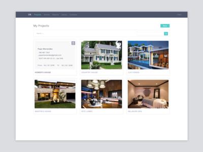 Project Management App UIs