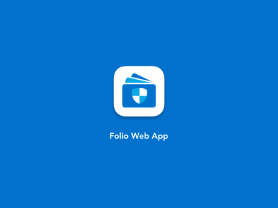 Folio Web App