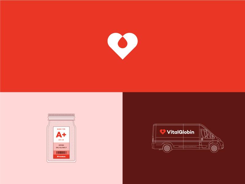 Free Friday - VitalGlobin Branding health blood livory packaging branding globin vital friday free