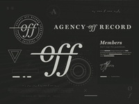 Agency Off Record