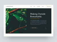 Landscape Website